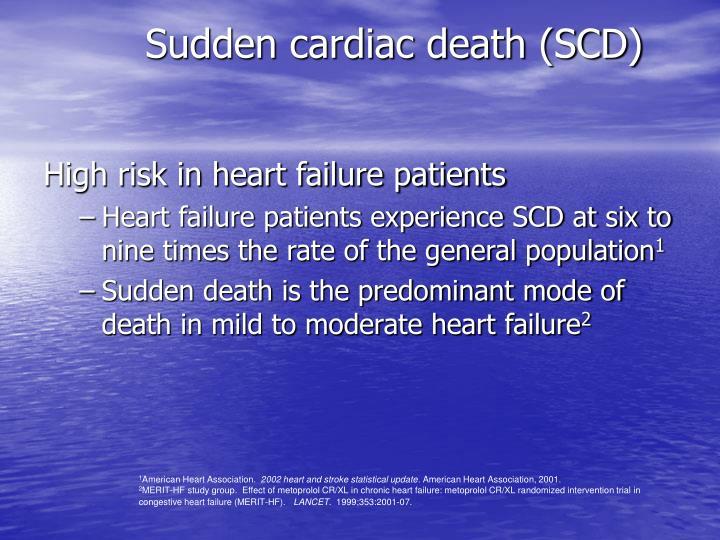 Sudden cardiac death (SCD)