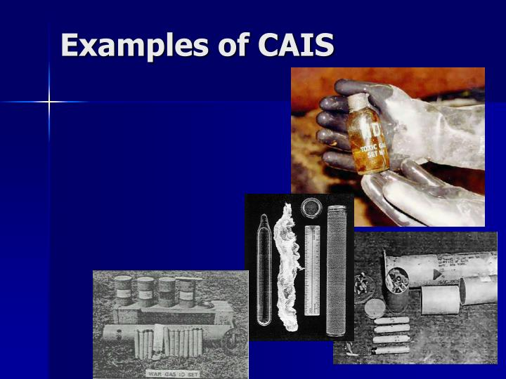 Examples of CAIS
