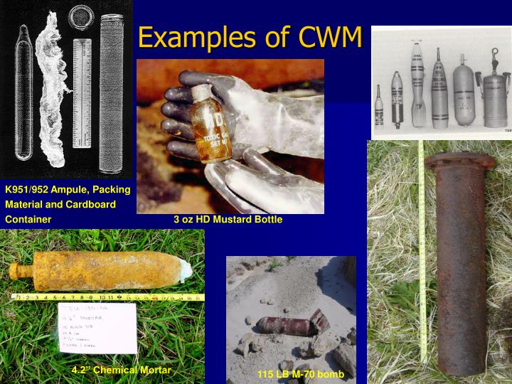 Examples of cwm