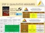 step 2 qualitative measures4