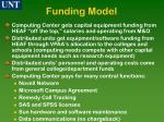 funding model
