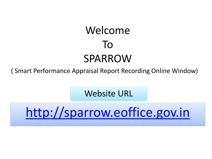 welcome to sparrow n.