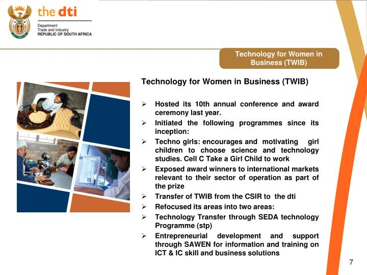 Technology for Women in Business (TWIB)