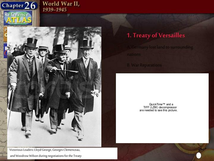treaty of versailles created political discontent and economic chaos in germany On the versailles treaty: versailles created political discontent and economic chaos 1in germany the peace treaty of versailles represented the results of.