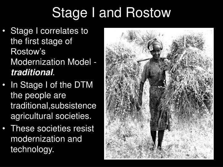 rostow modernization