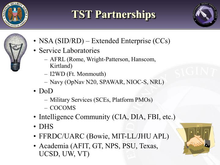 TST Partnerships