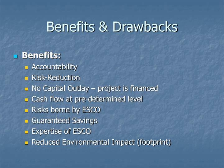 Benefits & Drawbacks