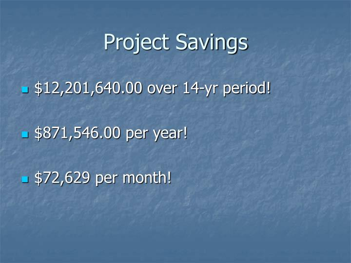 Project Savings