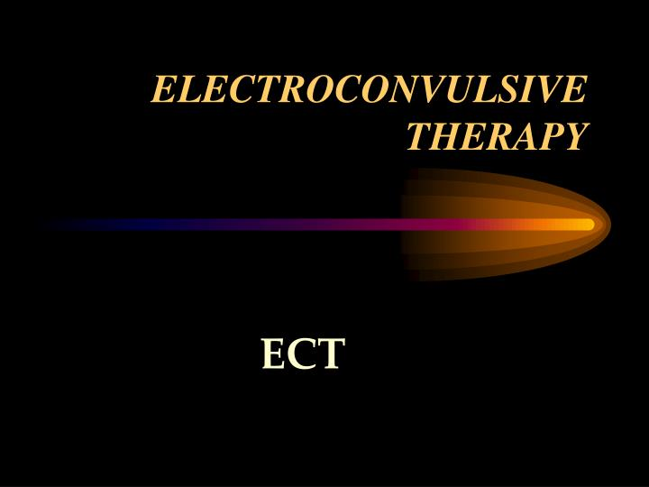 electroconvulsive therapy n.