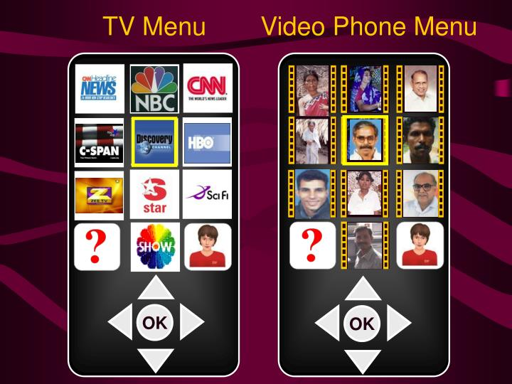 Video Phone Menu