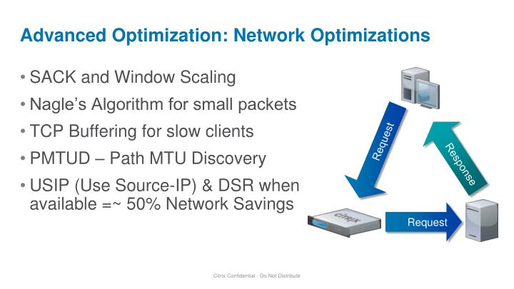 Advanced Optimization: Network Optimizations