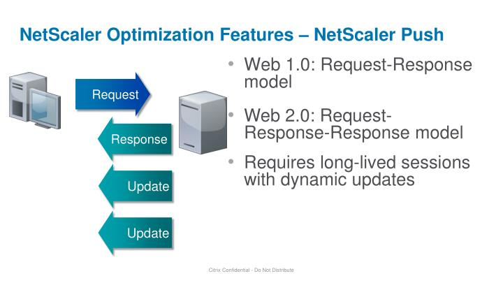 NetScaler Optimization Features – NetScaler Push