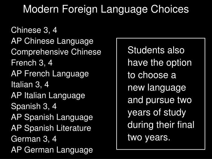 Chinese 3, 4