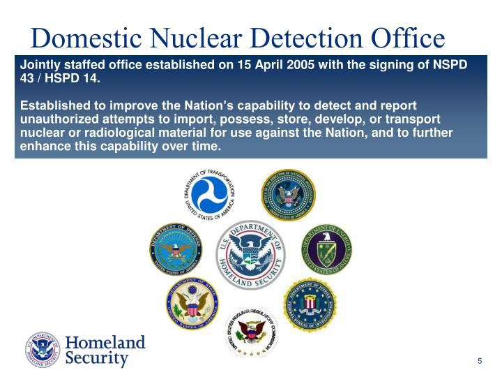 Domestic Nuclear Detection Office