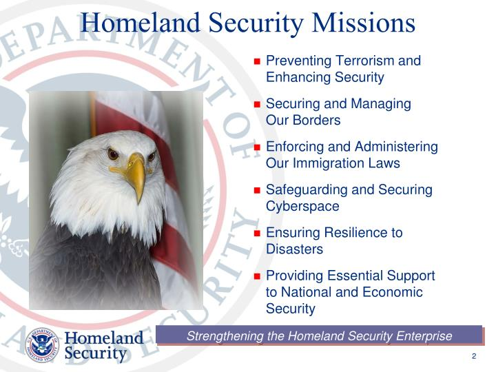 Homeland security missions