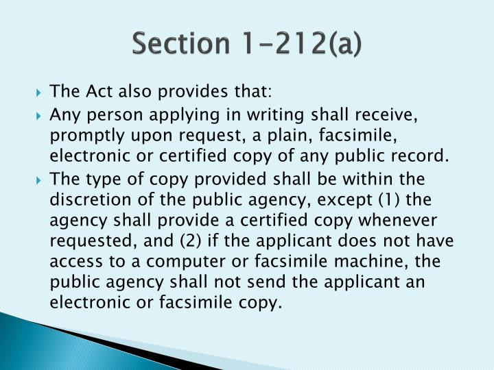 Section 1-212(a)