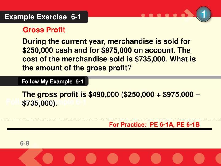 Follow My Example  6-1