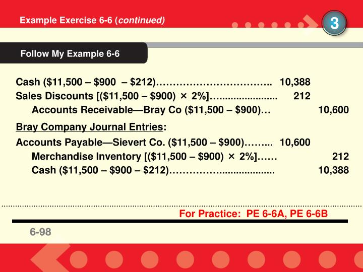 Bray Company Journal Entries