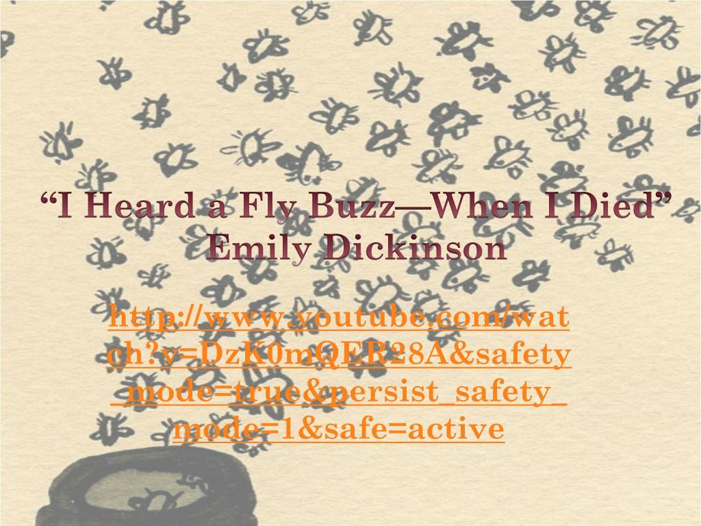 dickinson fly buzz