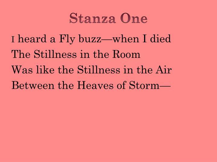heard a fly buzz when i died