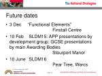 future dates