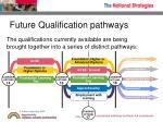 future qualification pathways1