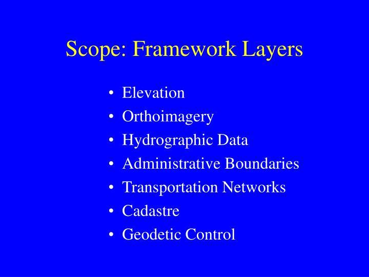 Scope: Framework Layers