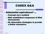 codex q a1