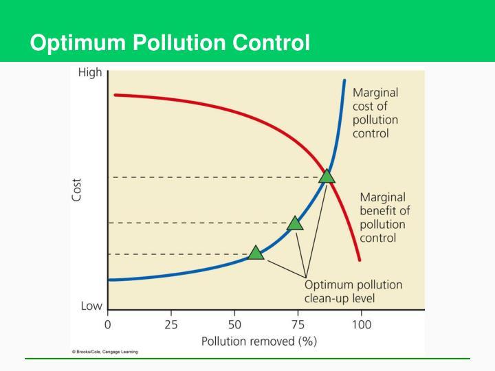 Optimum Pollution Control