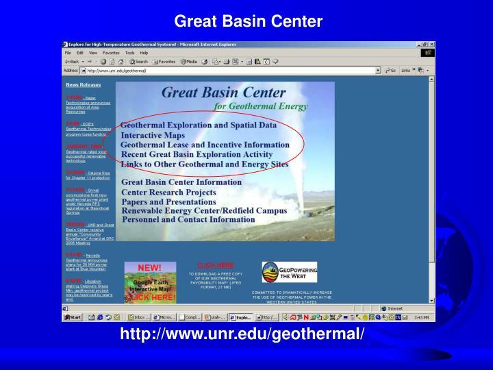 Great Basin Center