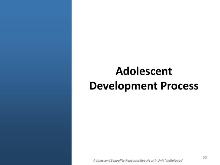 Adolescent Development Process