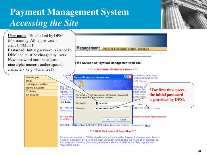 Payment Management System