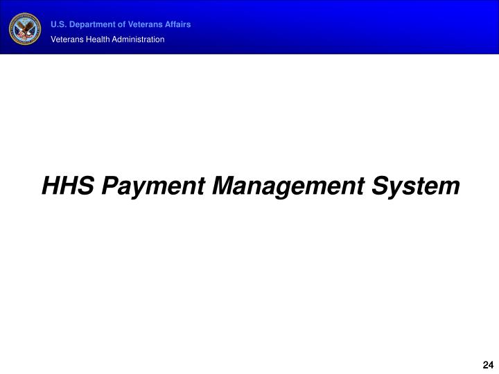 HHS Payment Management System
