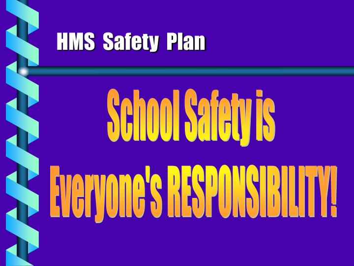hms safety plan n.