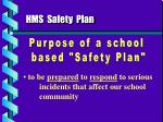 hms safety plan1