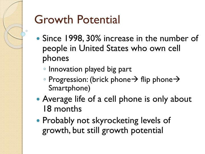 Growth Potential