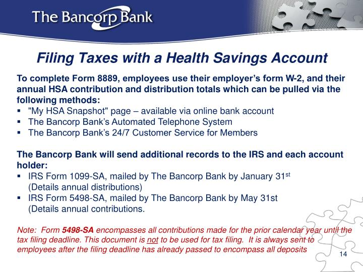 Ppt Overview Of The Bancorp Bank Hsa Solution For Excellus