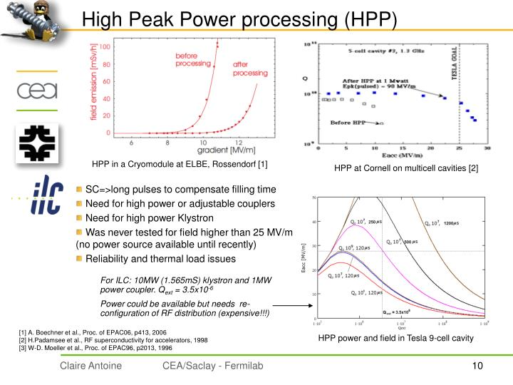 High Peak Power processing (HPP)