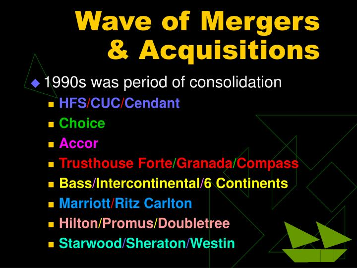 Wave of Mergers & Acquisitions