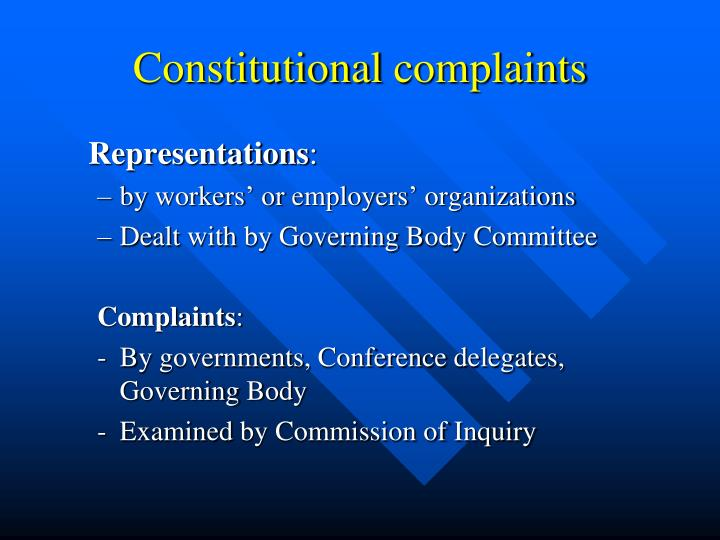 Constitutional
