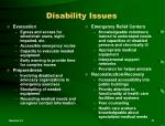 disability issues