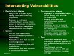 intersecting vulnerabilities