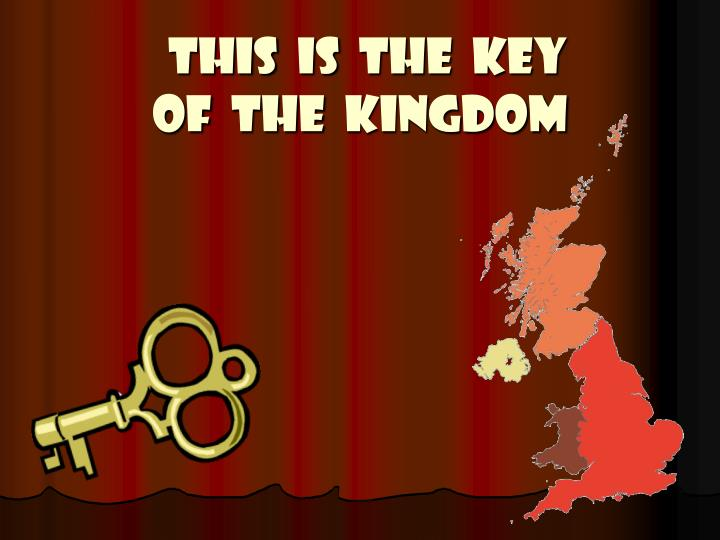 this is the key of the kingdom n.