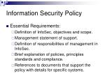 information security policy1