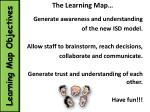 learning map objectives
