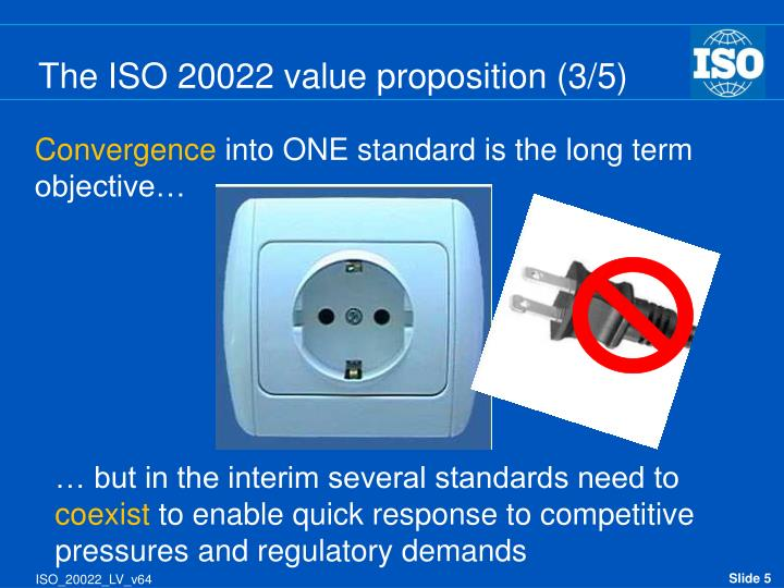 The ISO 20022 value proposition (3/5)