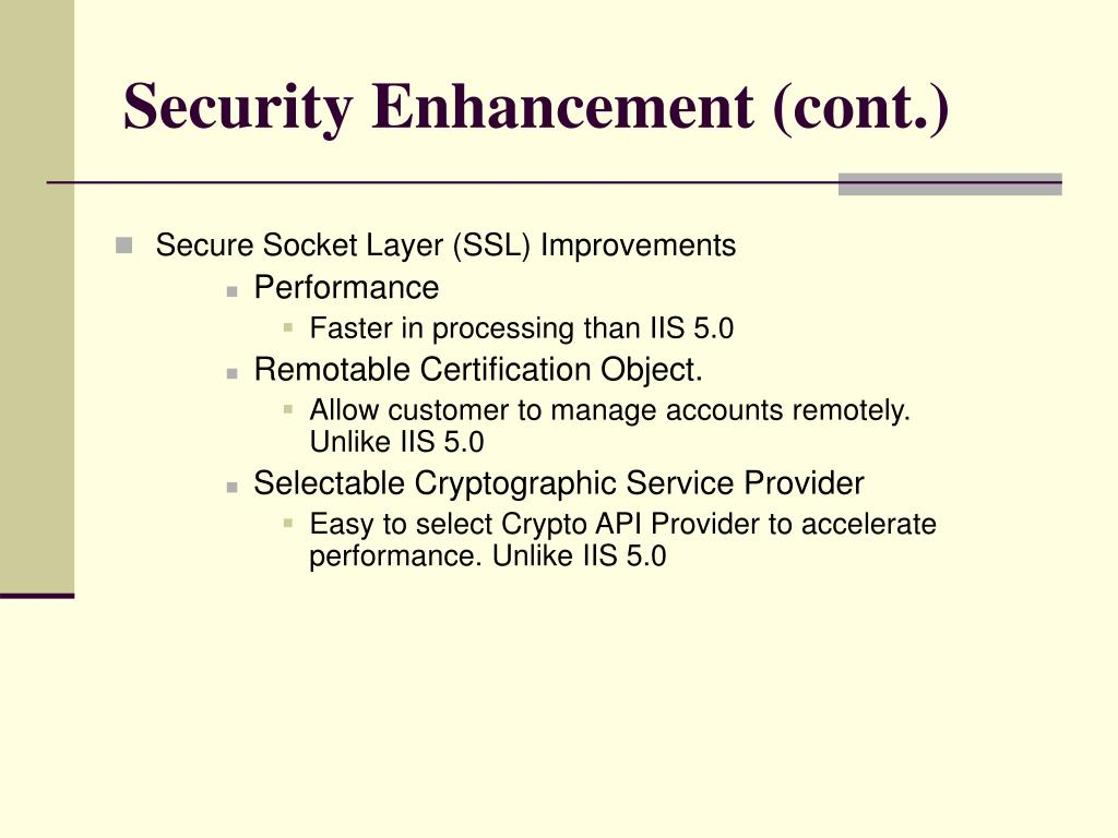 PPT - Microsoft Internet Information Server (IIS) PowerPoint
