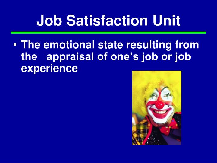 job satisfaction a key element in the Instead, the keys to improving job satisfaction are: improving autonomy, skill variety, task identity, task significance, and feedback loops while i don't think the categories are a surprise, i like the precision and the mapping if you're feeling a lack in the outcomes column, check the corresponding job.