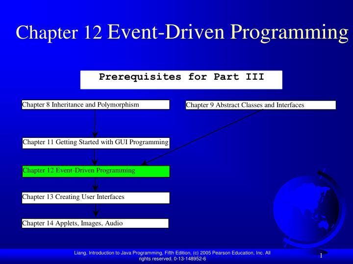 Chapter 12 event driven programming
