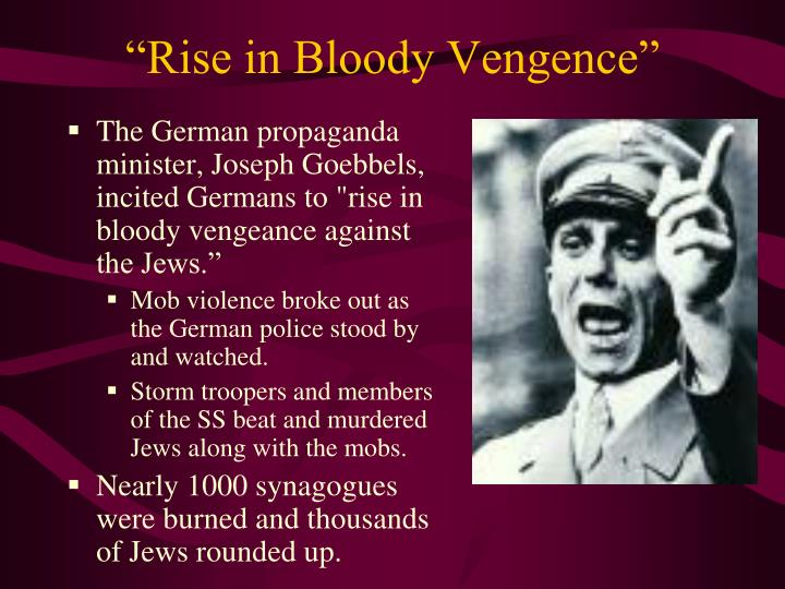 """Rise in Bloody Vengence"""